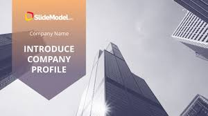 Company Presentation Template Ppt Introduce Company Profile Powerpoint Template