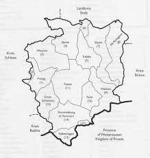 Figure 2 kreis rummelsburg in pomerania pommern width of the county is about 25 miles the polish name for rummelsburg is mias o 8