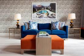 royal blue sofa living room blue couch living room ideas