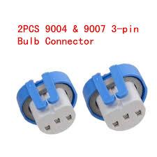 car styling 2pcs 9004 9007 headlight bulb repair harness connector Wire Harness Plugs car styling 2pcs 9004 9007 headlight bulb repair harness connector repair lead 3 wire