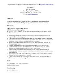 resume objective examples for any job berathen com - Resume Objective  Examples For Management