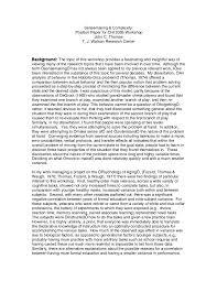 sensemaking position paper for chi workshop