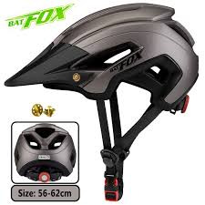 <b>BATFOX bike helmet bat</b> fox mtb cycling helmet integrally molded ...