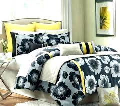 decoration yellow grey and white bedding black with regard to comforter set decor 9 bedspread