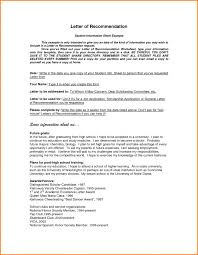 general letter of recommendation example letter sample letter of recommendation sample letters