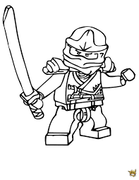 Coloriage Lego Ninjago Coloriage Ninjago Nya Ninja 2 Dessin