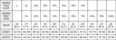 Mens Plus Size Chart Jeans Sizing Conversion Online Charts Collection