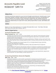 Accounts Payable Lead Resume Samples Qwikresume