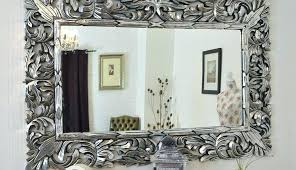 silver ornate wall mirror full size of regarding silver ornate wall mirrors large silver wall mirror extra large wall mirrors antique wall mirrors