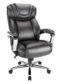 office leather chair. Realspace Axton Big Tall Bonded Leather High Back Chair Dark GrayChrome By  Office Depot \u0026 OfficeMax Office Leather Chair