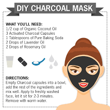 nature s truth diy charcoal mask activated charcoal essential oils coconut oil