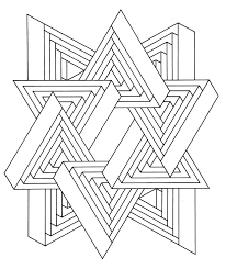 Small Picture To print this free coloring page coloring op art jean larcher 11