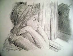 window pencil drawing. sad girl sketch - google search | art ideas pinterest sketch, and sketches window pencil drawing c