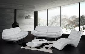 furniture engaging modern white leather sofa