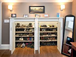 Furniture for shoes Hallway 7 Miniature Closet Homedit 20 Shoe Storage Cabinets That Are Both Functional Stylish
