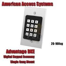 product categories keypads aas 26 100sg advantage dke plastic keypad 100 code 12 24 ac dc single gang mount