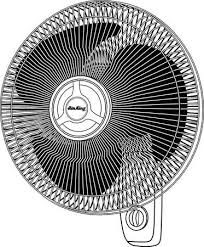 air king 9018 56 12 18 wall mount fan