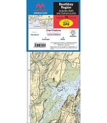 Maptech Waterproof Charts Maine Maptech Boothbay Region Waterproof Chart