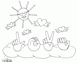 Small Picture Coloring Page Love One Another Coloring Page Coloring Page and