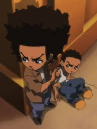 #bushido brown #fight #huey freeman #the boondocks. Riley Freeman The Boondocks Wiki Fandom