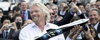 Weltraum-Tourismus. Richard Branson will der Erste sein