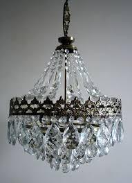vintage french chandelier antique vintage big french basket style crystal chandelier lamp chandelier lamps and chandeliers vintage french chandelier