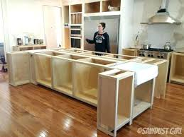 build a kitchen island build kitchen island kitchen island ideas with seating 1 kitchen island cart