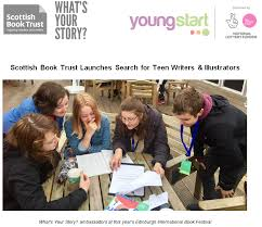 Search For Teens Scottish Book Trust Launches Search For Teen Writers Illustrators