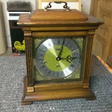 linden triple chime bracket clock 1982