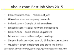Resume Posting Sites From Free Resume Search Sites For Employers