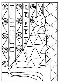 Chat Klimt L Art Selon Version 2017 Pinterest Peintre