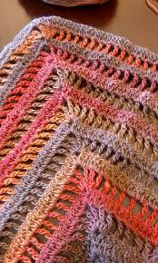 Easy Crochet Shawl Pattern