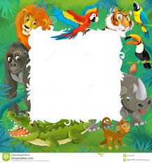 jungle animals border clipart. Exellent Animals Templates Of Jungle Animals  Google Search In Jungle Animals Border Clipart E