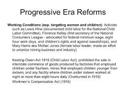 day new deal progessive era poverty policies compare and contrast progressive era reformsworking