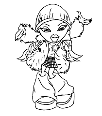 Small Picture Bratz Coloring Pages 2 Bratz 29 nebulosabarcom