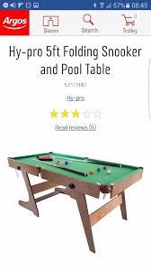 kids pool snooker table 5ft