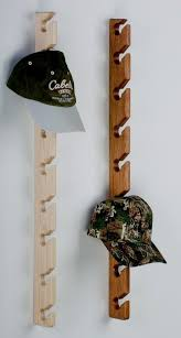 check out these DIY hat rack ideas to hang your hats and caps on, after
