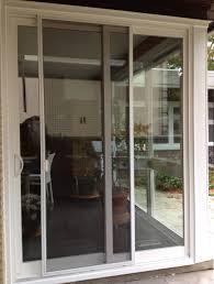 sliding patio doors with screens brushed metal handles