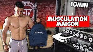 10min musculation maison programme