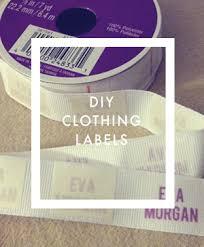 Diy Clothing Label Diy Clothing Labels Sewing Labels Clothing Labels Fabric