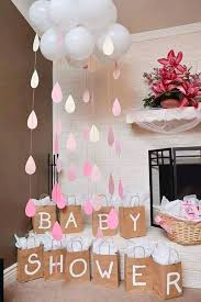image of baby shower balloons diy centerpieces decorations