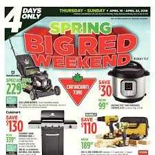 canadian tire weekly flyer 4 days only spring big red weekend air conditioner air conditioner window kit portable