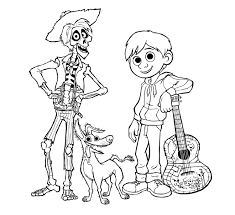 We will publish a post with your request, as soon as possible. Pixar Coco Coloring Pages 101 Coloring