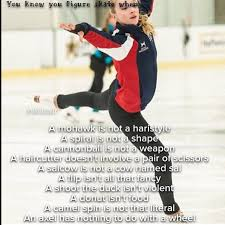 best figure skating images figure skating ice  you know your a figure skater when