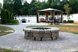 paver patio with fire pit. Paver Patio \u0026 Fire Pit With P