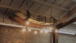 reclaimed beam edison chandelier how to step by step diy