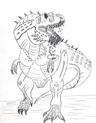 Small Picture T Rex Coloring Page Miakenasnet