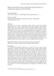 Mining Google Scholar Citations An Exploratory Study Ze Huang