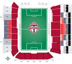 Toronto Fc Seating Chart 3d Mini Season Seat Pack Toronto Fc