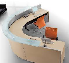curved office desks. Bralco Office Furniture Curved Modular Reception Desk Desks 1